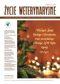 Życie Weterynaryjne - Grudzień 2017